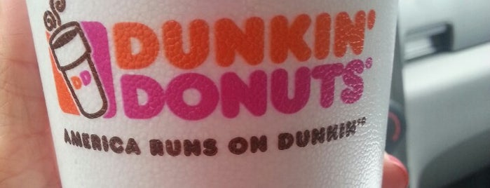 Dunkin' Donuts is one of My favorite Places!.