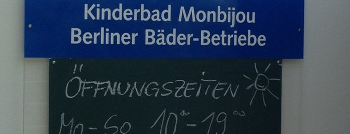 Kinderbad Monbijou is one of Berlin beach feeling.