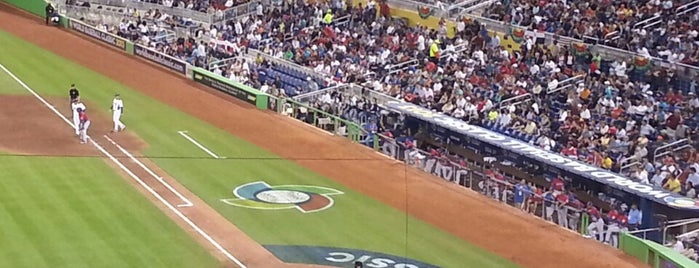 Marlins Park is one of MLB parks.