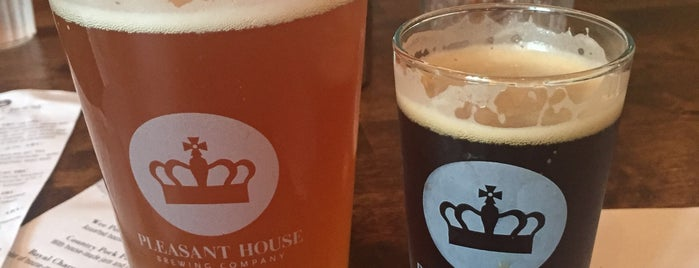 Pleasant House Brewing Company is one of Michigan Breweries.
