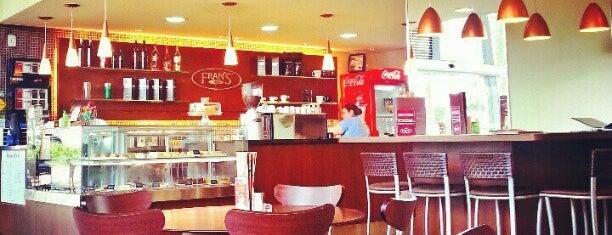 Fran's Café is one of Cafet./Padarias/Sorveterias.