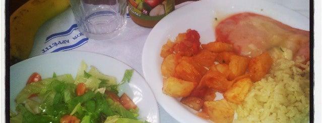 Comedor de la central ULL is one of comida.