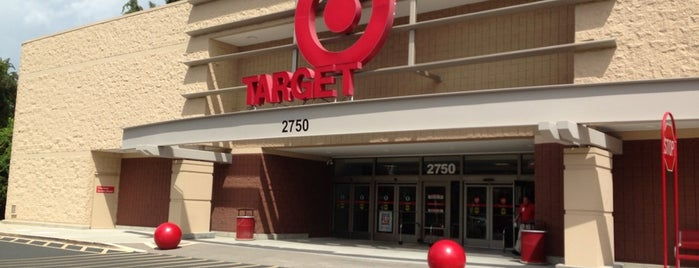 Target is one of Frequent Check In's.