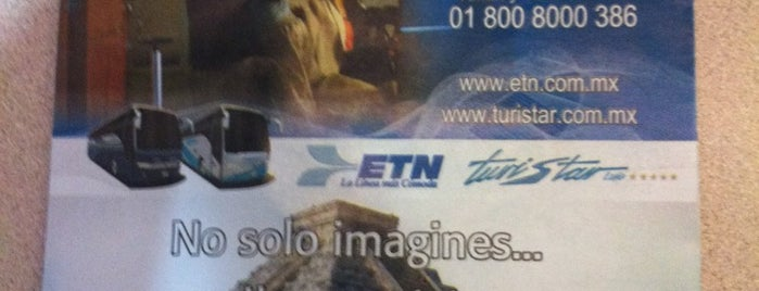 ETN is one of Taquillas ETN.