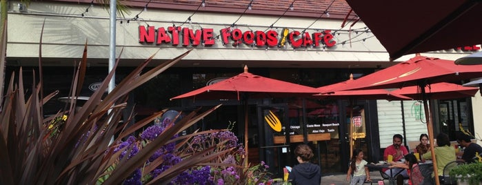 Native Foods is one of Fab food places.