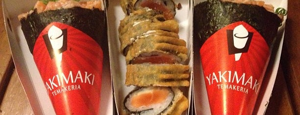 Yakimaki Temakeria is one of Comida Japonesa Goiânia.