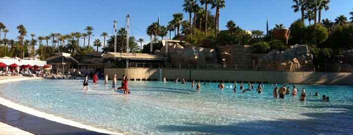 Mandalay Bay Beach is one of 50 Best Swimming Pools in the World.