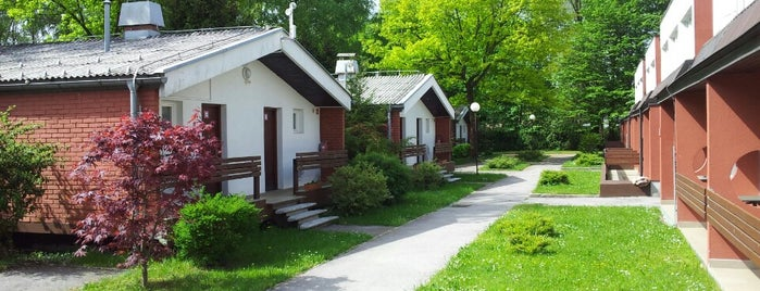 Ljubljana Resort Hotel & Camp is one of CampWorld Slovenia.