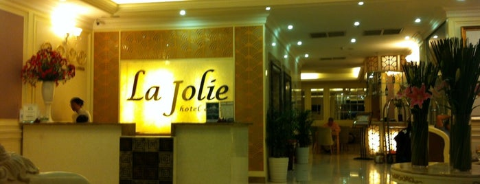 La Jolie Hotel & Spa is one of Ho Chi Minh City.