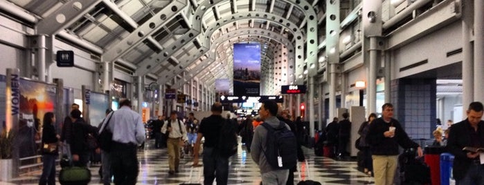 Chicago O'Hare International Airport (ORD) is one of favorites.