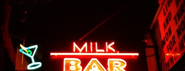 Milk Bar is one of Happy Hour? Happy day!.
