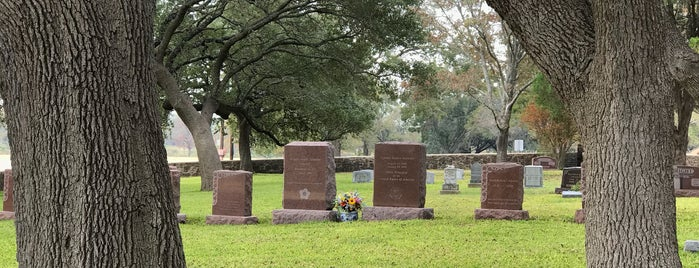 LBJ Family Cemetery is one of Favorite Great Outdoors.