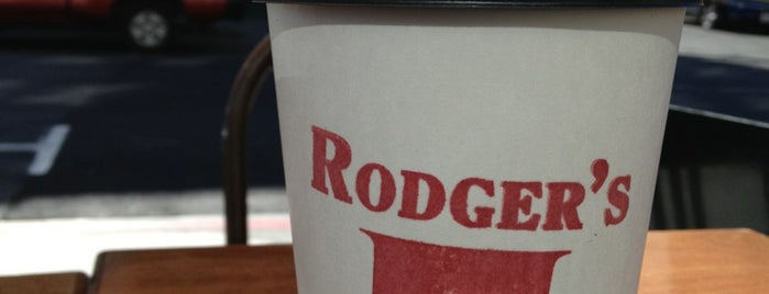 Rodger's Coffee & Tea is one of San Fran.
