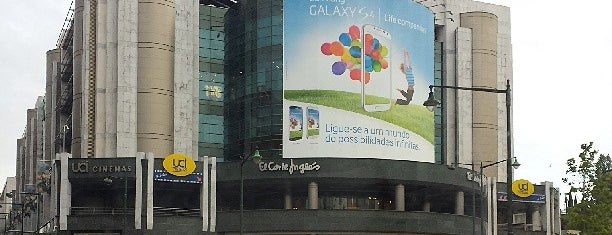 El Corte Inglés is one of Centros Comerciais.
