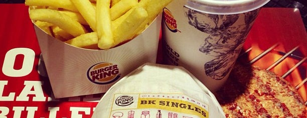 Burger King is one of My Favorite.