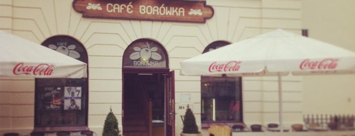 Cafe Borówka is one of Places to go, people to meet.