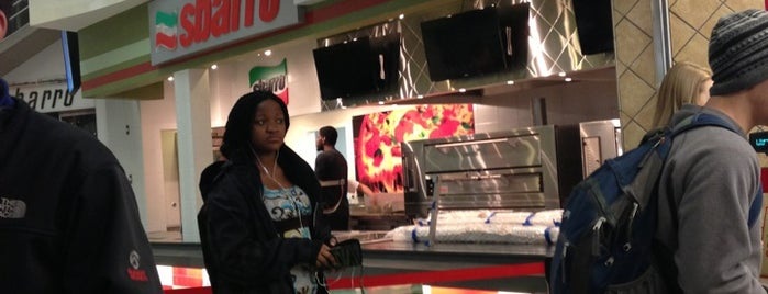 Sbarro is one of On-Campus Dining.