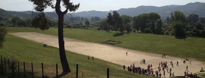 Ancient Stadium of Olympia is one of Europa.