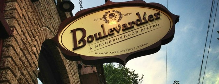 Boulevardier is one of Dallas.