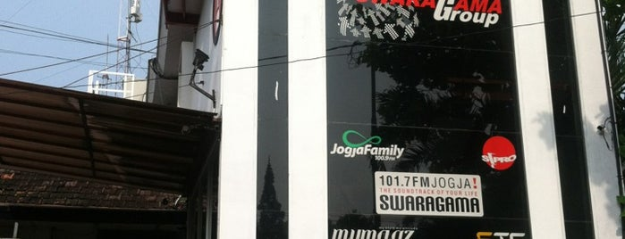 Swaragama 101.7 FM is one of Visited Places in Yogyakarta :).