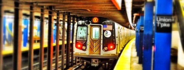 MTA Subway - Union Tpke/Kew Gardens (E/F) is one of MTA Subway - F Line.