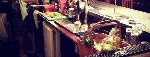 Cafe Leningrad is one of Riga.