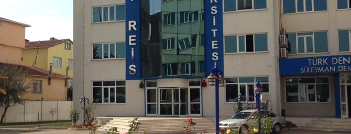 Piri Reis Üniversitesi is one of İstanbuldaki Üniversiteler ve Kampüsler.