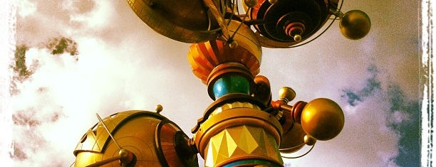 Orbitron is one of Disneyland for the Small Ones.