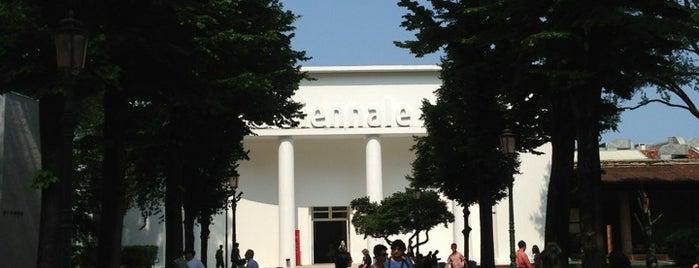 Giardini della Biennale is one of Venice.