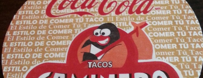 """Tacos """"El Caminero"""" is one of Donde comer sin carne.."""