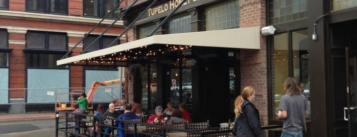 Tupelo Honey is one of Knoxville area.