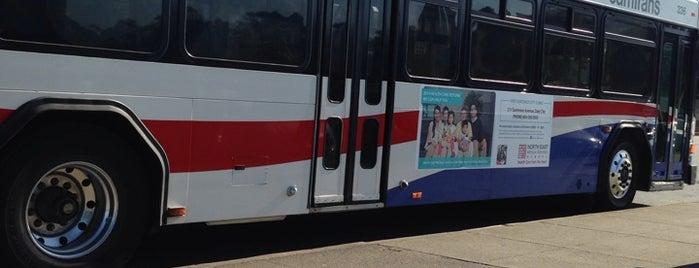 SamTrans 122 Bus Stop is one of moonee.