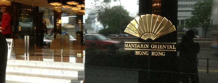 Mandarin Oriental, Hong Kong 香港文華東方酒店 is one of Hong Kong.