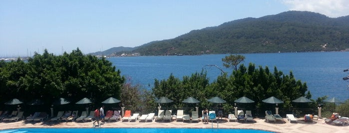 Sun Maris Bellamare Beach is one of Marmaris Otelleri.
