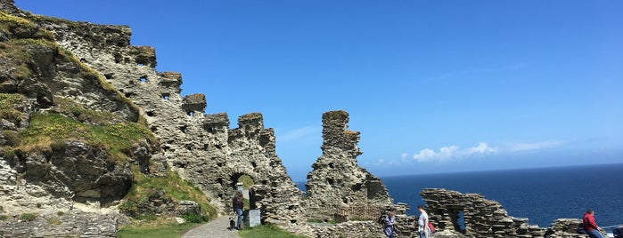 Tintagel Castle is one of England 1991.