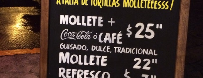 Molleteria is one of Restaurantes en los que he comido!!!.