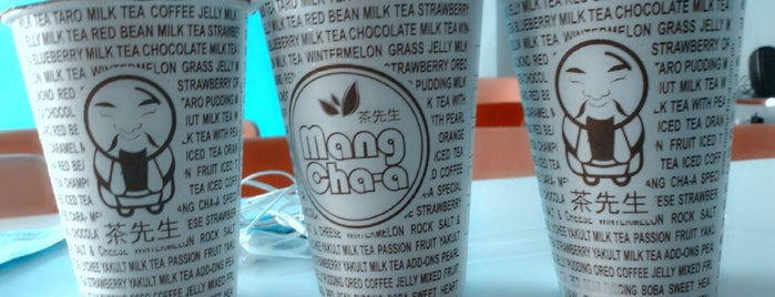 Mang Cha-a is one of Tea Shops ♥.