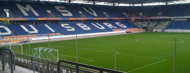 Schauinsland-Reisen-Arena (MSV Arena) is one of SU Doppelte Venues.
