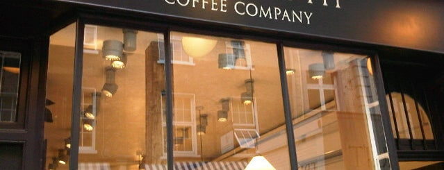 Monmouth Coffee Company is one of London.
