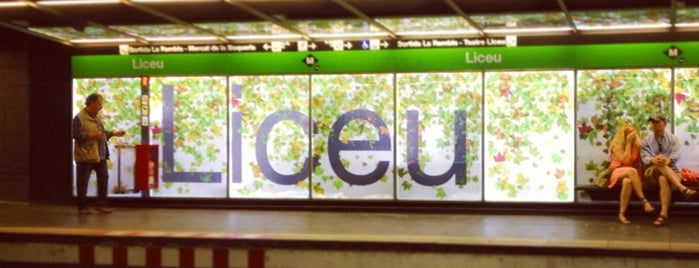METRO Liceu is one of Barselona.
