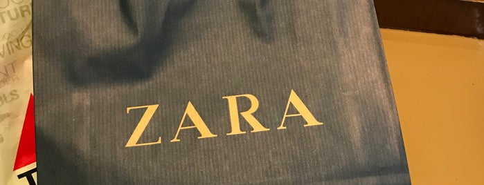 ZARA is one of Shopping!.