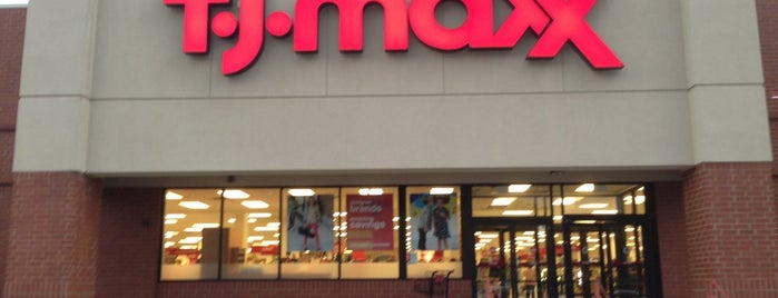 T.J. Maxx is one of Favorites.