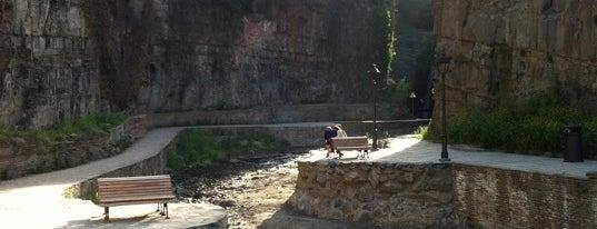 Waterfall in Abanotubani   ჩანჩქერი აბანოთუბანში is one of Tifliss.