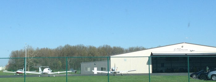 Delaware Municipal Airport at Jim Moore Field (DLZ) is one of Airports in Ohio.