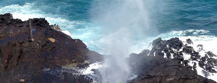 Hālona Blowhole Lookout is one of Oahu in 2018.