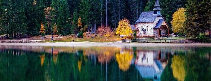 Pragser Wildsee / Lago di Braies is one of Europa.