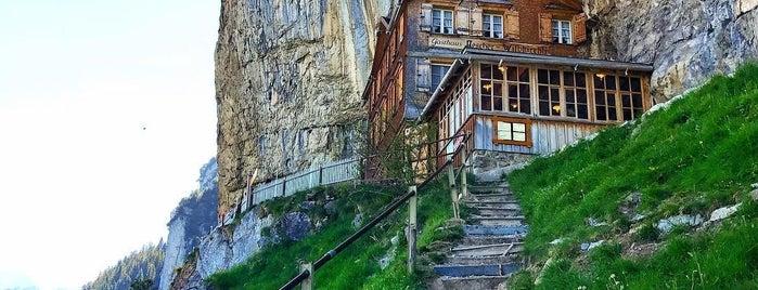 Berggasthaus Aescher is one of Dream Destinations.