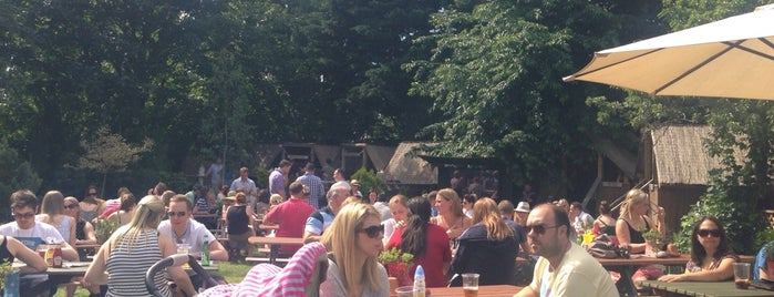 The Leather Bottle is one of London's Best Beer Gardens.