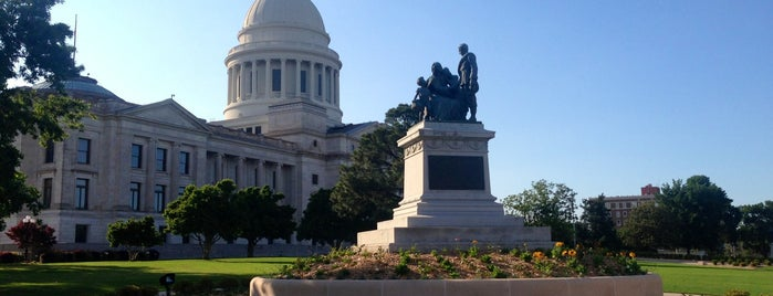 Arkansas State Capitol is one of State Capitols.