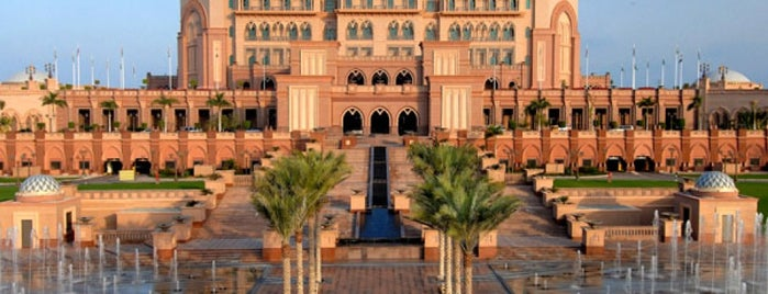 Emirates Palace Hotel is one of A list.